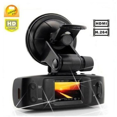 AGPtek® 2012 Newest Version GS1000 5.0MP H.264 Full HD 1920x1080p 30FPS Car DVR w/ 1.5