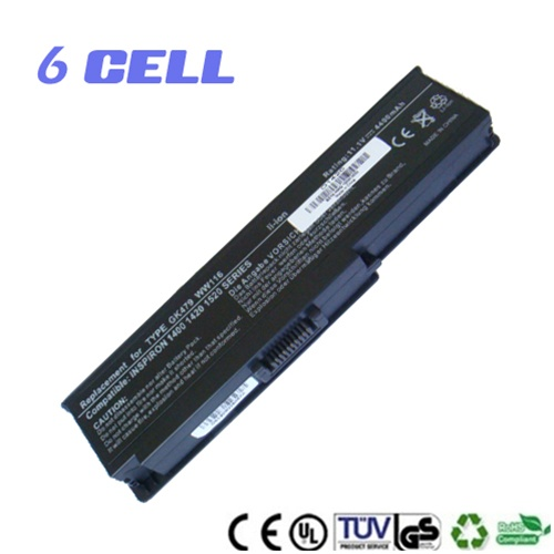 6 Cell Replacement Battery for Dell Inspiron 1400 1420 Series