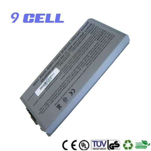 9 Cell Replacement Battery for Dell Latitude D810 Precision M70