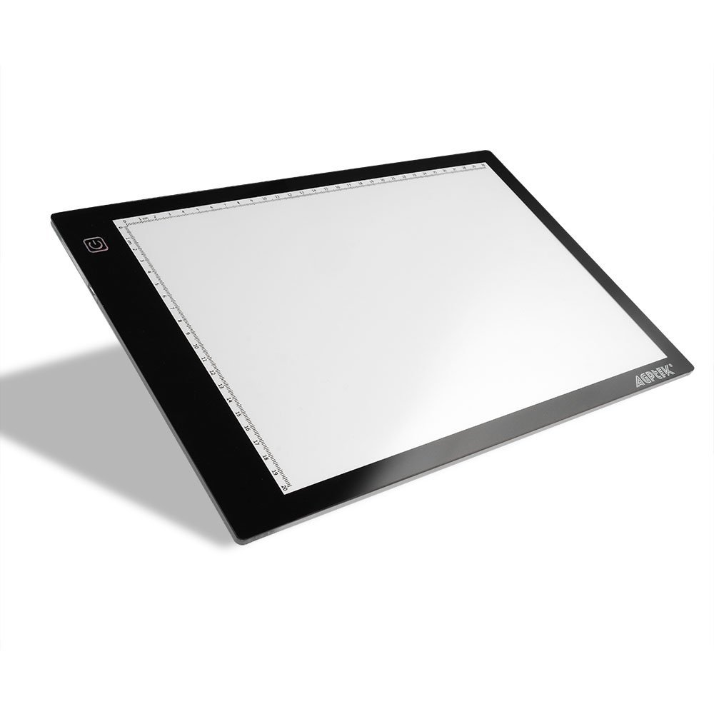Tracing Light Box, AGPtek 17inches (A4 Size) LED Artcraft Tracing Light Pad Light Box For Artists,Drawing, Sketching, Animation