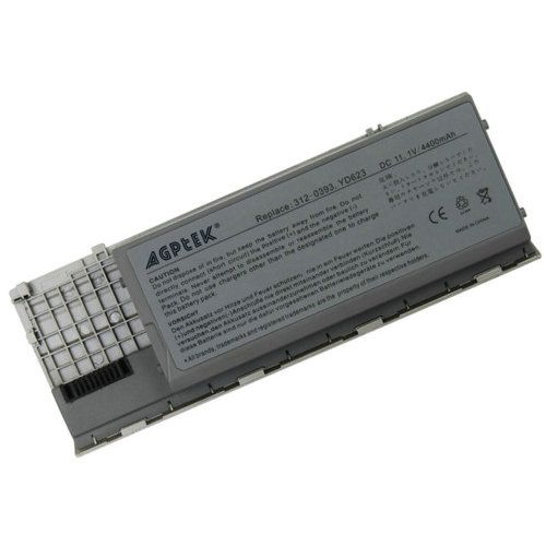4800mAh/49Whr ! Agptek Replacement Laptop Battery For Dell Latitude D620 D630
