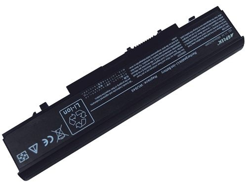 Agptek -- 4800mAh/53whr 6 cell Replacement Dell WU946 KM905 battery for Dell Studio 1535 & 1536 Series laptop