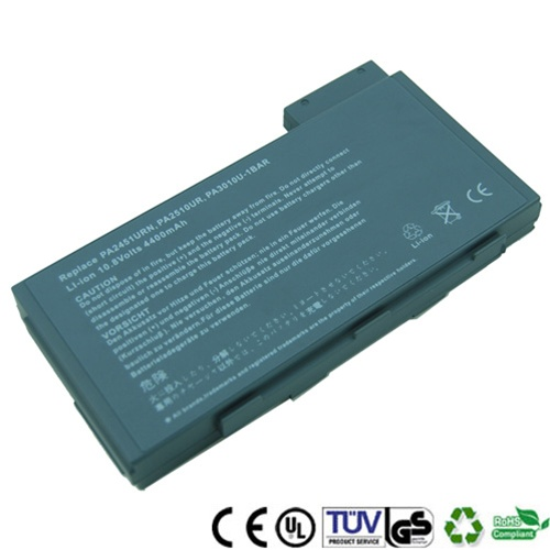 6cell Replacement Toshiba PA2451U PA2510U Battery For Toshiba Tecra 8000 series