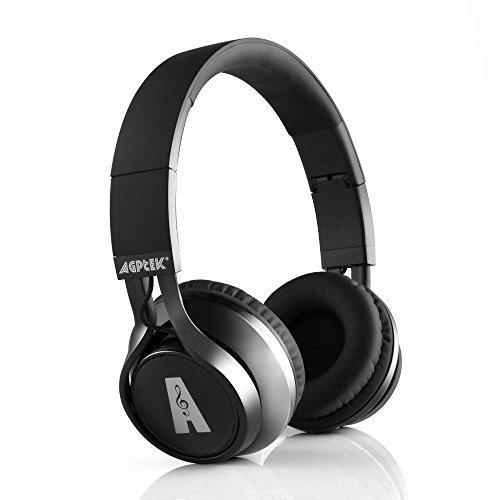 Bluetooth Headset, AGPTEK Foldable Over Ear Wireless Headphones Hands-free Calling with CD Quality Talking/playing HD Sound for Smartphone, Tablet, PC