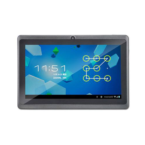 AGPtek 7 inch Android 4.0 OS Capacitive Touch Screen Wi-Fi G-sensor Tablet PC built in 4GB Capacity