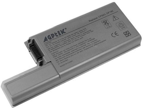 4800mAh 6 Cell Replacement Laptop Battery For DELL Latitude D820 D830 D531, Precision M65 M4300