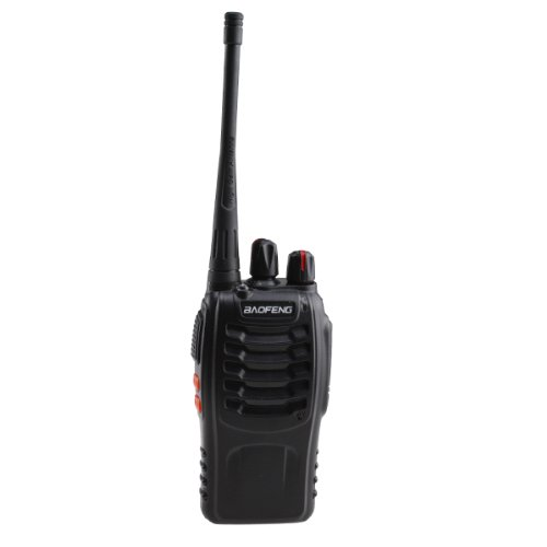 Walkie Talkie 2-Way 16CH 3W Radios Transceiver Handheld Interphone Intercom BF-888S W/built-in