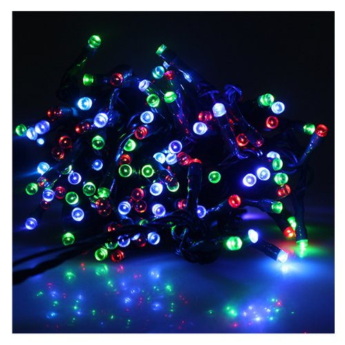 MultiColor Solar Power Fairy Light String for Indoor Outdoor Home Garden Christmas Party