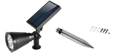 Agptek Solar Spotlight