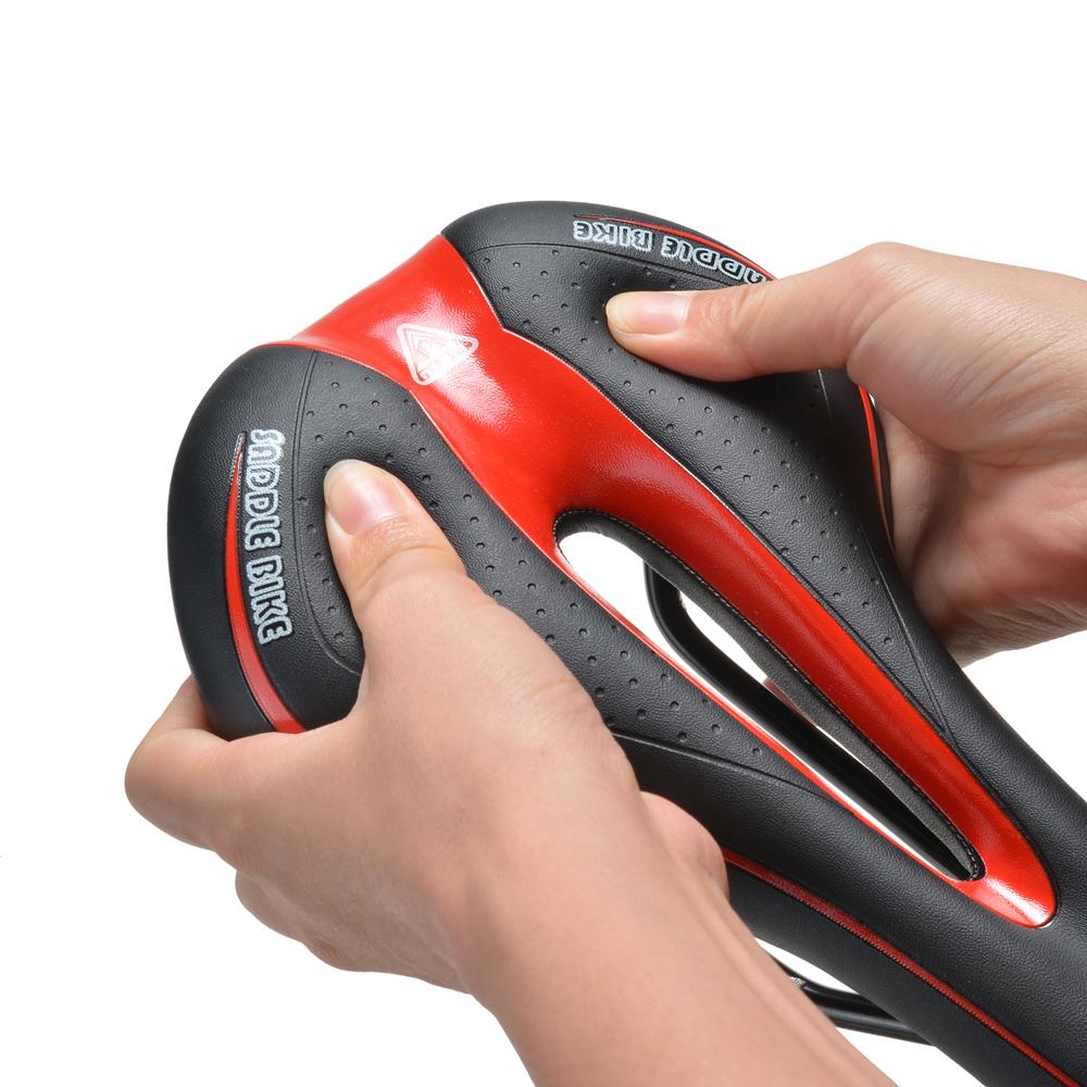Bike Saddle Shock-Resistant Sturdy Comfortable Cushion Pad ...