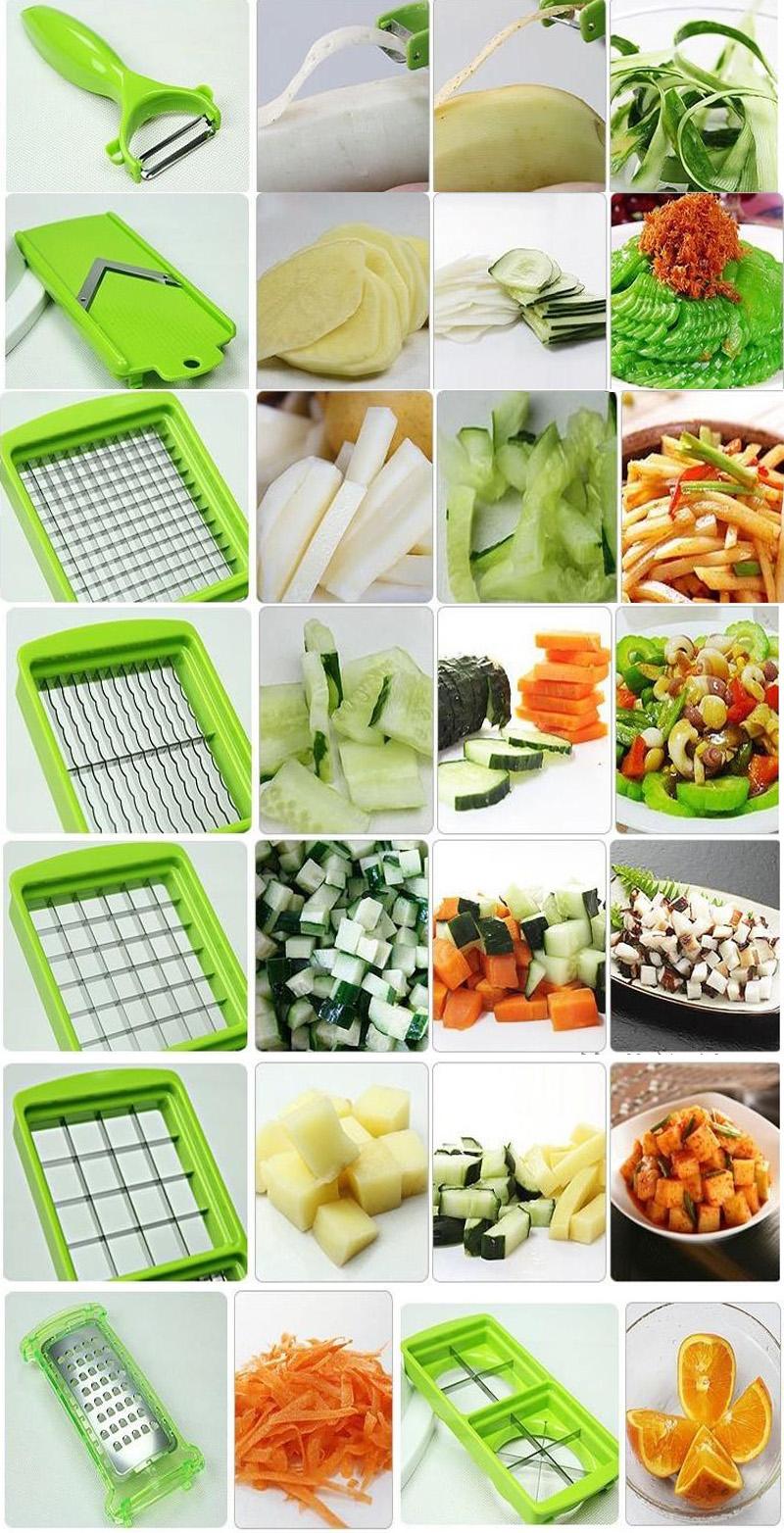 easy nicer dicer plus multi chopper vegetable cutter fruit slicer peeler as tv ebay. Black Bedroom Furniture Sets. Home Design Ideas