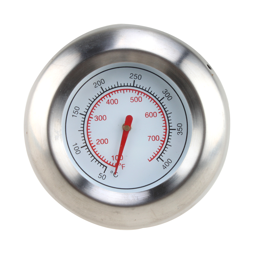Cooker Temperature Gauge ~ Bbq smoke grill stainless steel thermometer gauge temp