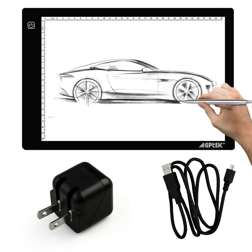 Usb Cable Led Artcraft Tracing Light Pad A4 Light Box For