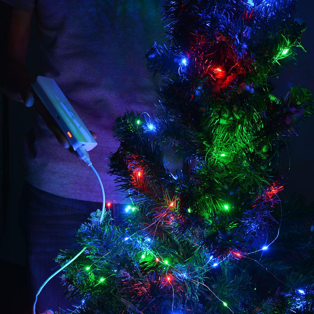 rgb led string light copper wire starry light christmas wedding ebay. Black Bedroom Furniture Sets. Home Design Ideas