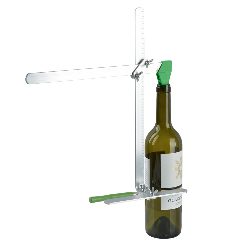 Agptek glass bottle cutter stained glass recycles wine for Glass cutter for wine bottles