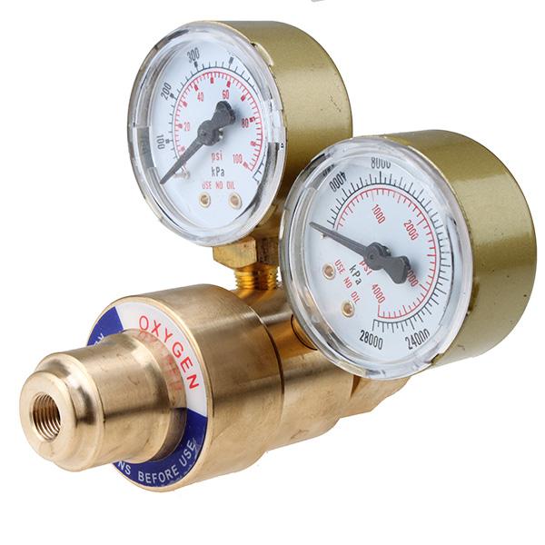 Oxy oxygen gas welding welder regulator pressure gauge