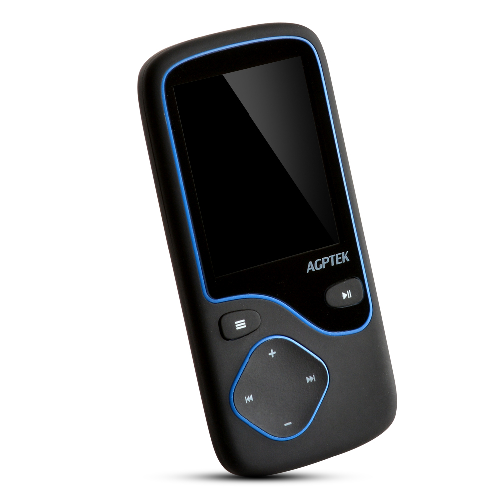AGPTEK® Portable Bluetooth MP3 Music Player With FM