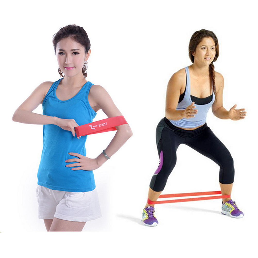 Resistance Bands Images: Set Of 4 Exercise Resistance Loop Bands For Fitness