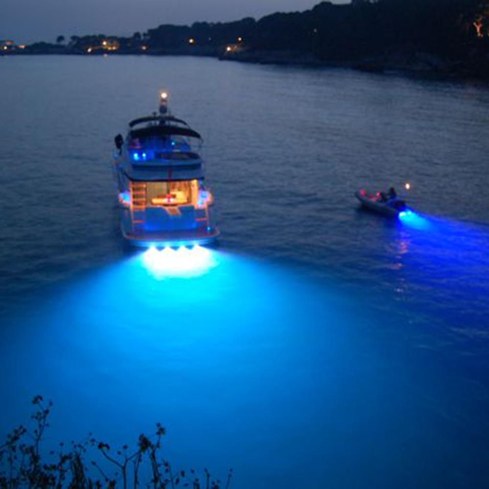 Marine Led Boat Lights: Super Bright LED Marine Underwater Yacht Boat Light For