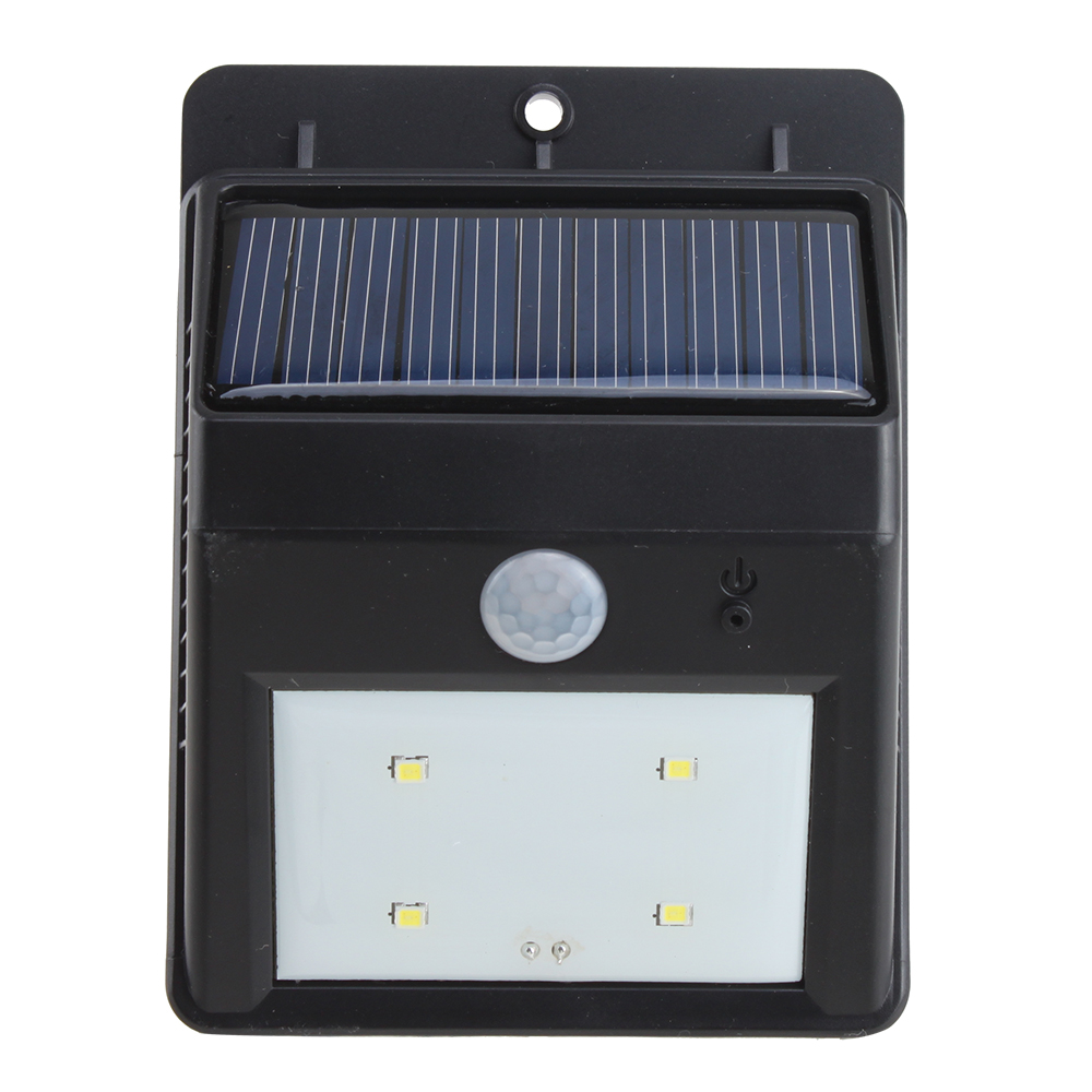 Frostfire Solar Wall Light With Pir Motion Sensor : Solar Power LED Bright White Light Motion Sensor Wall Garden Street PIR Lamp eBay