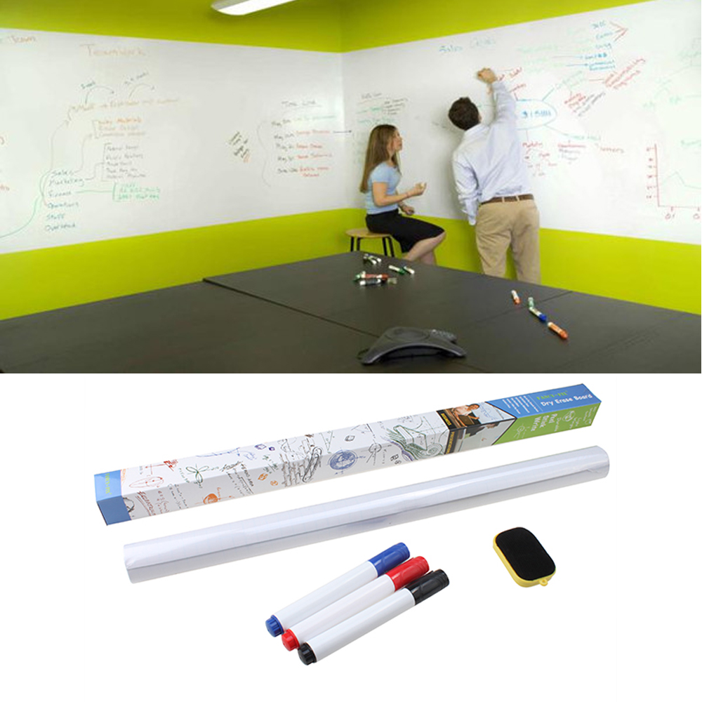 Dry erase stickers for wall sticker creations dry erase board removable wall paper sticker decal chalkboard amipublicfo Images