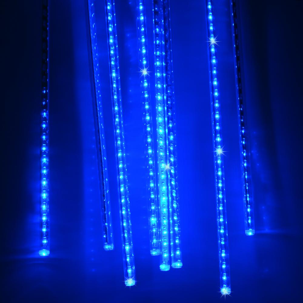 240 LED Meteor Shower Rain Light Tube String Christmas