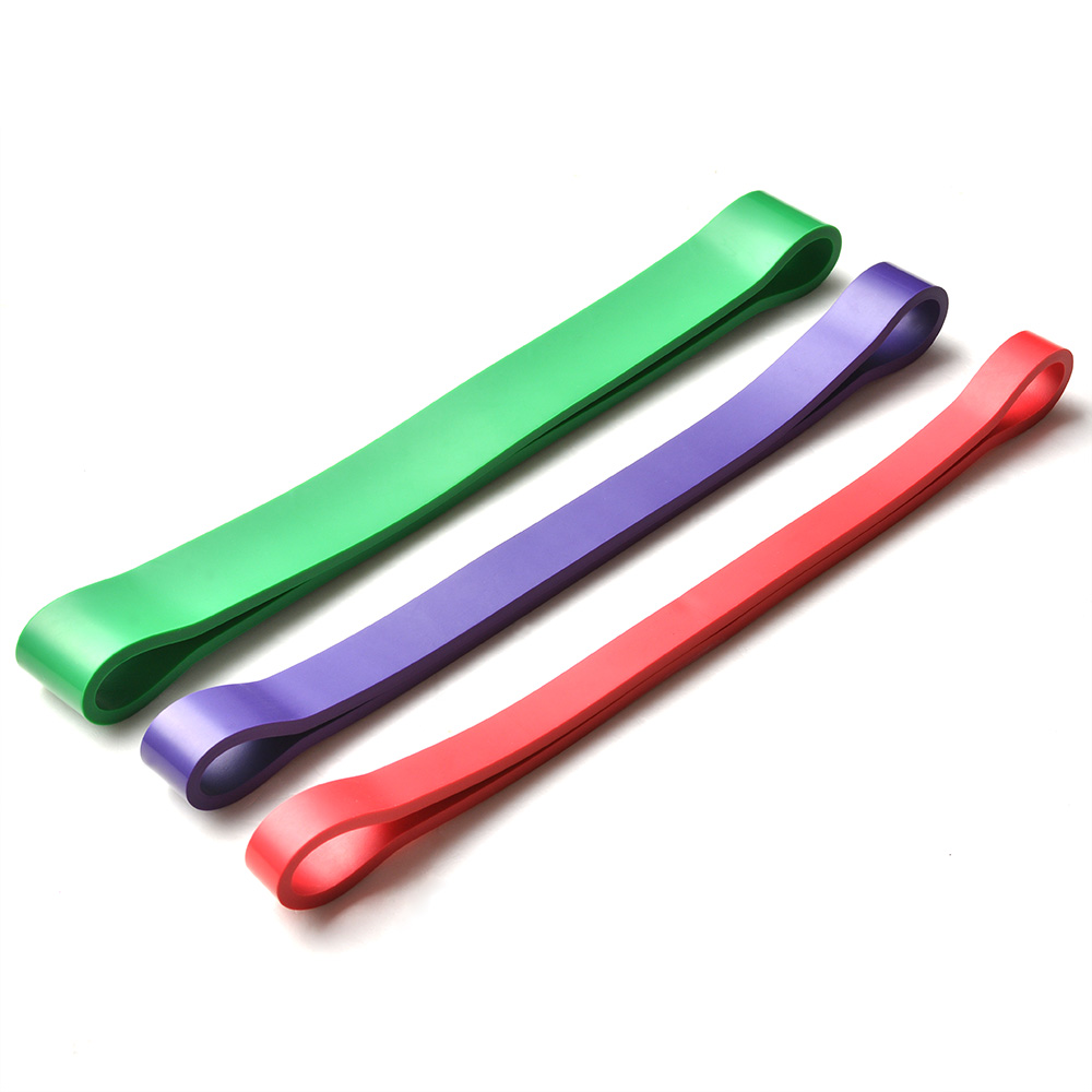 Set Of 3 Exercise Resistance Loop Bands For Fitness