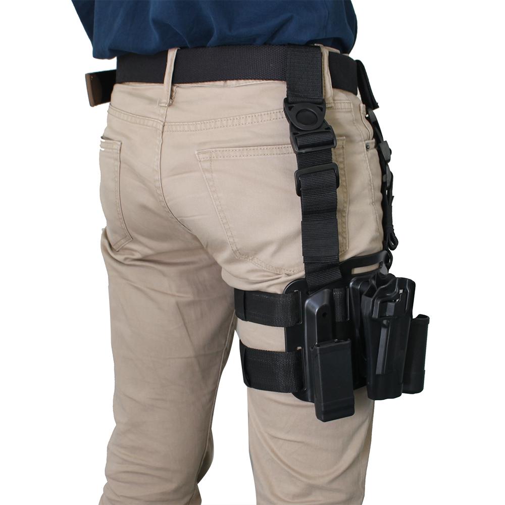 AGPtek Right Hand Tactical Drop Leg Holster Belt