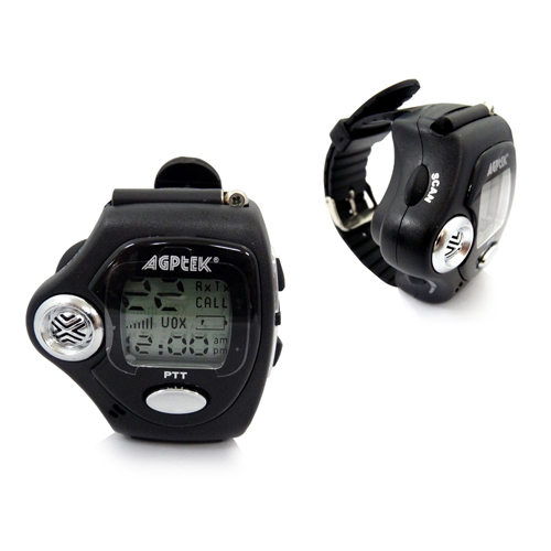 Pair Fashion Walkie Talkie Two Way 2-Way Radio Watch