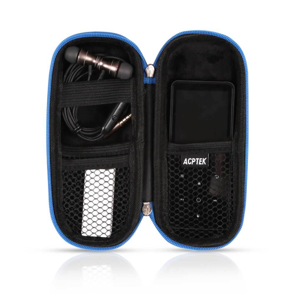 EVA Zipper Carrying Hard Case Cover for Digital Voice Reco AGPTEK Carrying Case